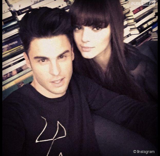 Baptiste Giabiconi et Kendall Jenner, prochains visages de la collection printemps été 2015 Chanel par Karl Lagerfeld