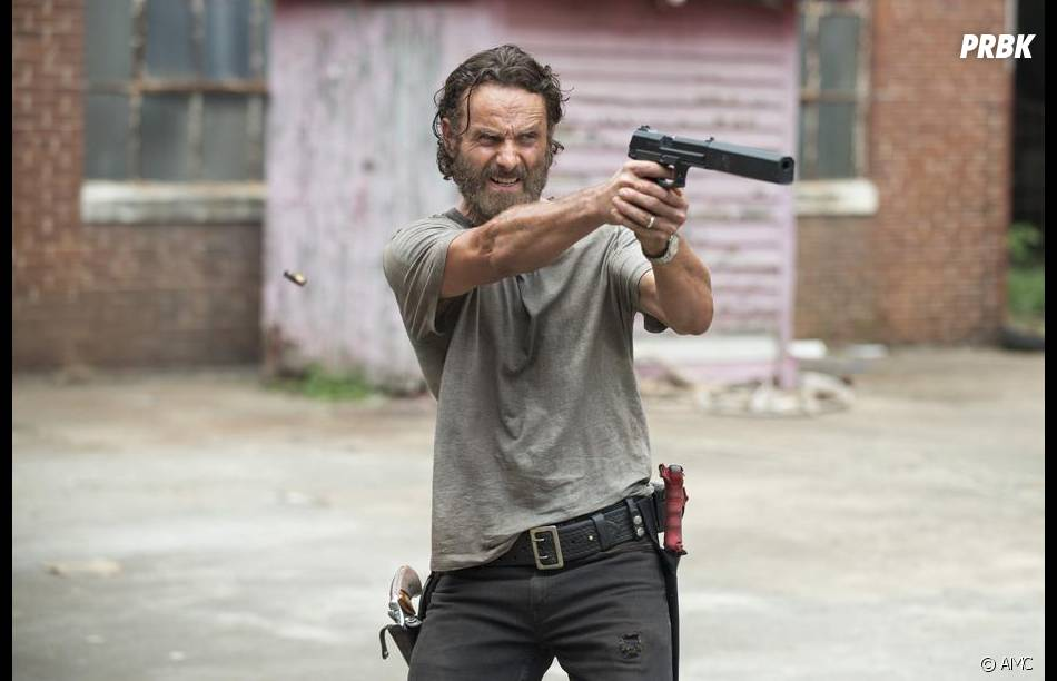 The Walking Dead saison 5 : Rick prêt à se battre