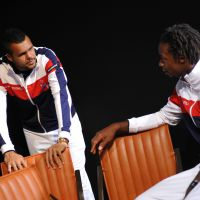 Jo-Wilfried Tsonga et Gaël Monfils : heureux et amoureux en Suisse