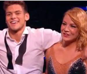 Danse avec les stars 5 : Luize Darzniece à droite de Rayane Bensetti