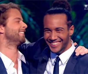 Koh Lanta 2014 : Laurent et Martin lors de la finale