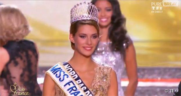 Camille Cerf : Miss Nord Pas de Calais sacrée Miss France 2015