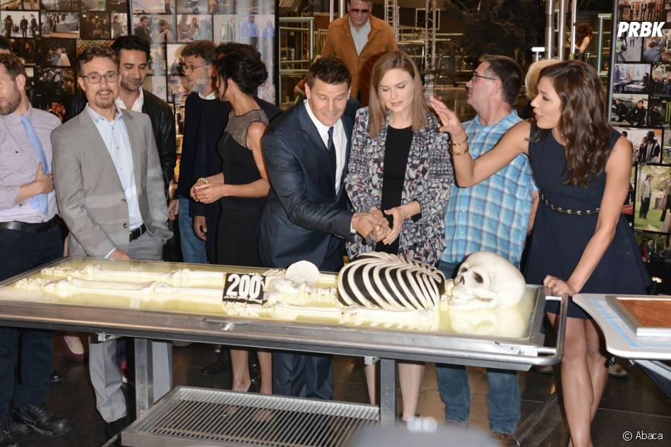 Bones saison 10 : un gâteau très spécial pour le 200ème épisode