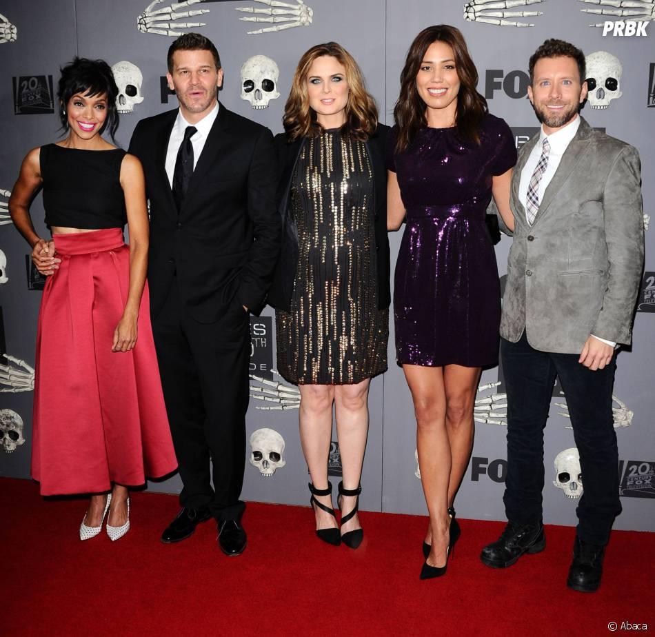 Bones saison 10 : les acteurs fêtent le 200ème épisode...Emily Deschanel Family