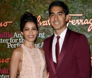 Freida Pinto et Dev Patel au Performing Arts Inaugural Gala, le 17 octobre 2013 à Los Angeles