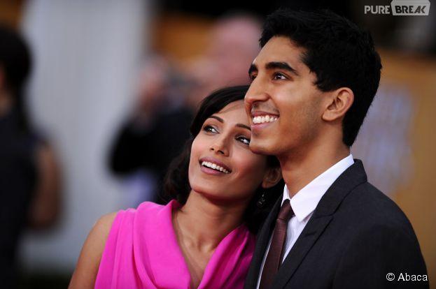 Freida Pinto et Dev Patel : couple glamour au SAG Awards 2013