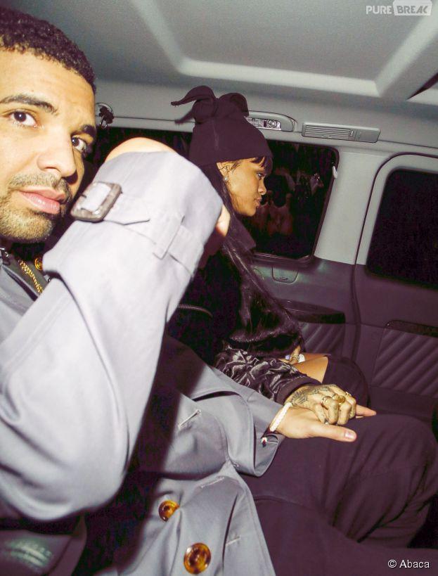 Rihanna et Drake en 2014 avant leur rupture