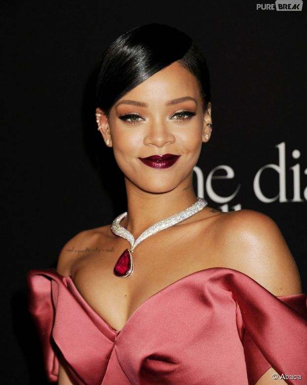 Rihanna sublime au premier Diamond Ball, le 11 décembre 2014 à Los Angeles