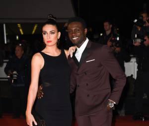 Corneille et sa femme aux NRJ Music Awards, le 13 décembre 2014 à Cannes