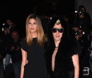 Fatal Bazooka (Michaël Youn) et Isabelle Funaro aux NRJ Music Awards, le 13 décembre 2014 à Cannes