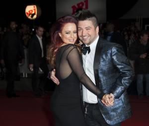 Chris Marques et sa femme Jaclyn Spencer aux NRJ Music Awards, le 13 décembre 2014 à Cannes