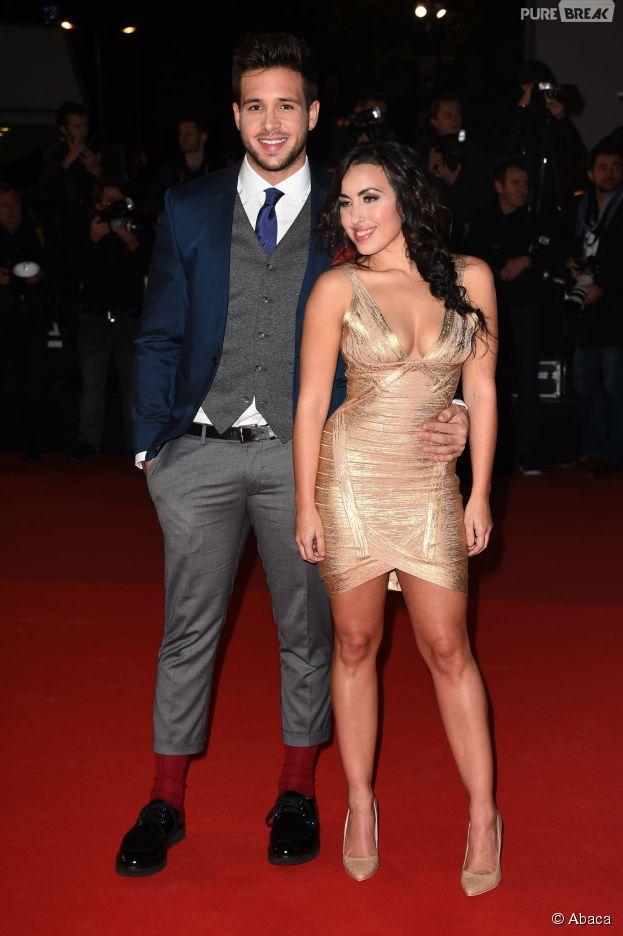 Maude et Damien Lauretta aux NRJ Music Awards, le 13 décembre 2014 à Cannes