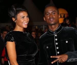Black M et son épouse Lia aux NRJ Music Awards, le 13 décembre 2014 à Cannes