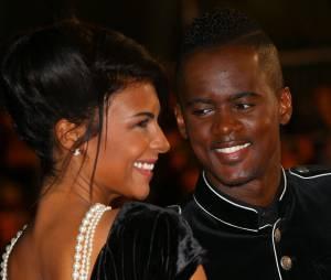 Black M et sa femme Lia aux NRJ Music Awards, le 13 décembre 2014 à Cannes