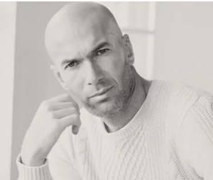 Zinédine Zidane prend la pose pour la marque Mango