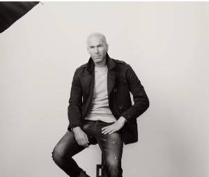 Zinédine Zidane mannequin pour Mango