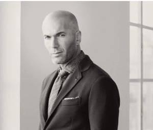 Zinédine Zidane : costume classe pour la marque Mango