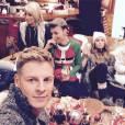 Matthieu Delormeau : selfie pendant le prime des Anges fêtent Noël