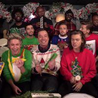 One Direction et Jimmy Fallon fêtent Noël avec une reprise délirante