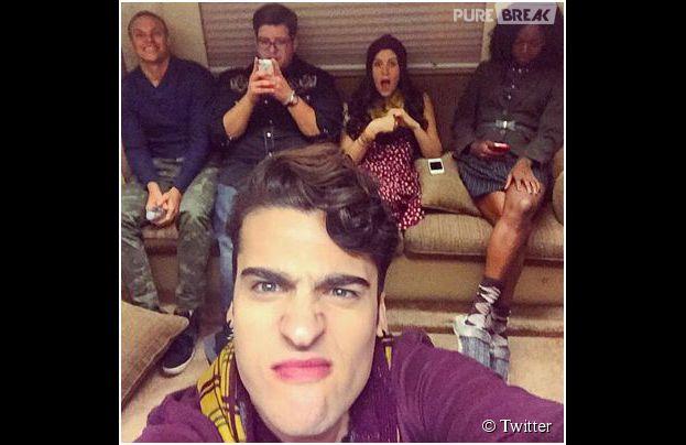 Glee saison 6 : les nouveaux personnages en mode selfie
