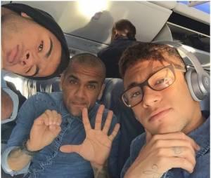 Neymar en mode geek sur Instagram, le 4 janvier 2014