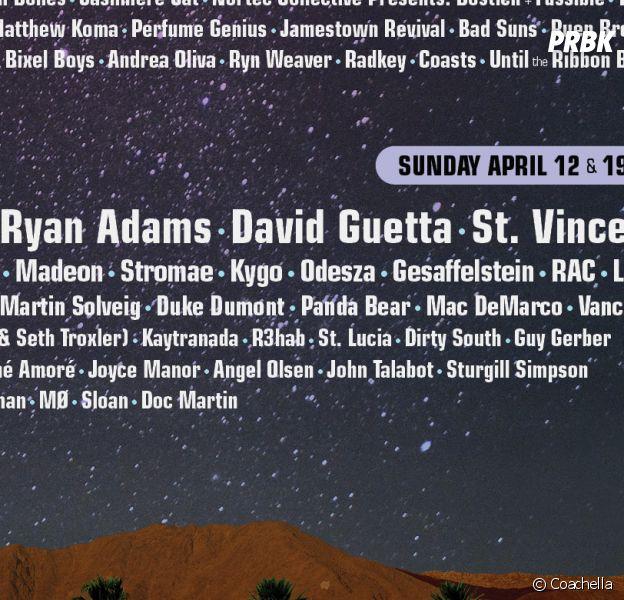 Stromae, AC/DC, Drake, David Guetta... la programmation complète de Coachella 2015
