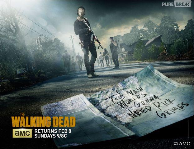 The Walking Dead saison 5 : poster de la partie 2