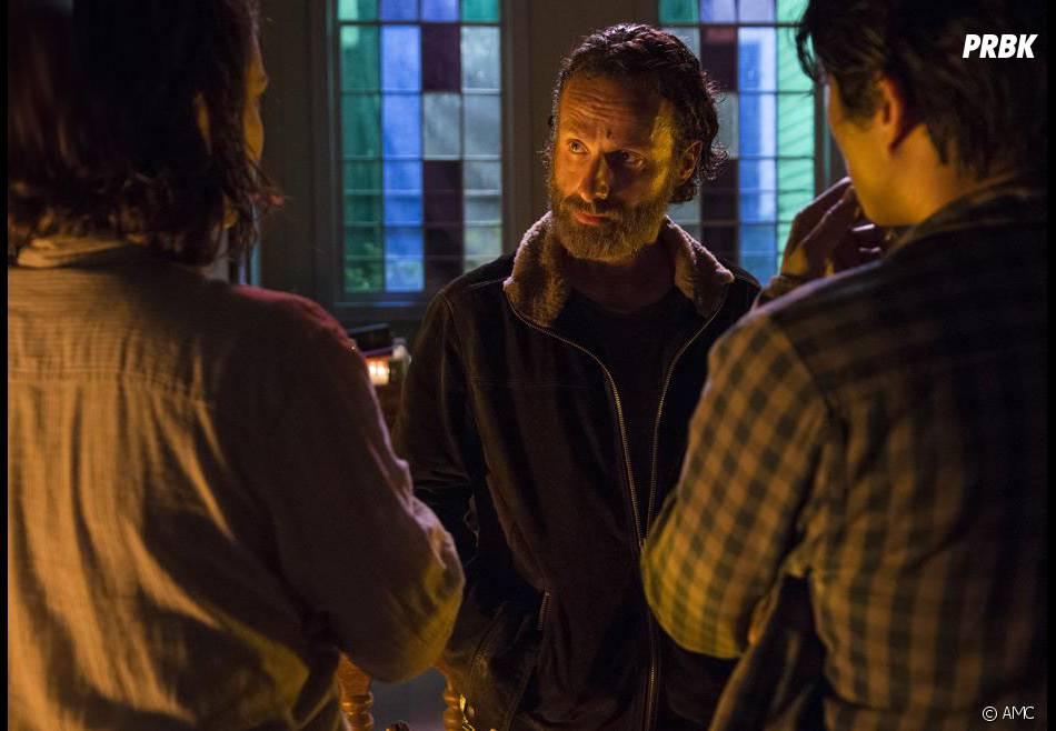 The Walking Dead saison 5 : Rick sur une photo