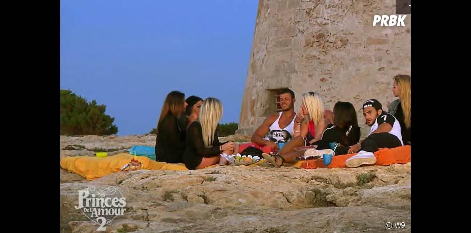Les Princes de l'amour 2 : les séducteurs passent leur dernière soirée avec leurs séductrices dans l'épisode 44 diffusé le 8 janvier 2015, sur W9