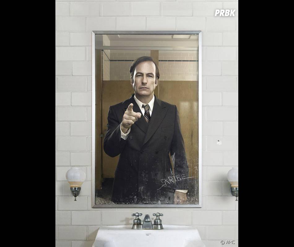 Better Call Saul : Saul sur une photo promo