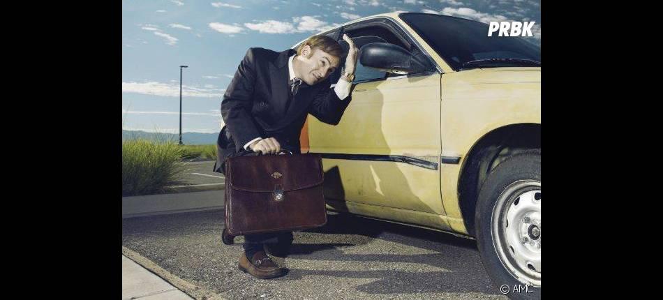 Better Call Saul : Bob Odenkirk sur une photo promo