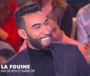 La Fouine fait ses débuts de chroniqueur dans TPMP, le 14 janvier 2015, sur D8