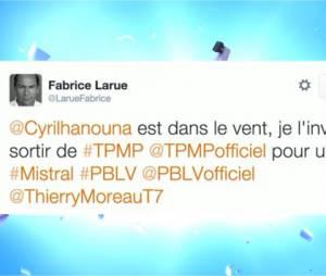"""Cyril Hanouna en guest dans Plus Belle La Vie ? L'animateur de TPMP répond """"oui"""" à l'invitation du producteur"""