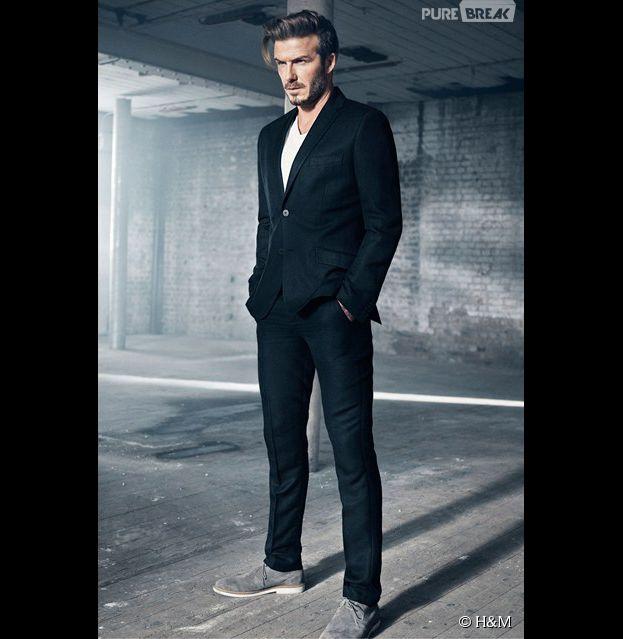 David Beckham mannequin de la collection Modern Essentials de H&M