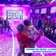 Baptiste Giabiconi danse avec Isabelle Morini-Bosc, le 21 janvier 2015 dans TPMP