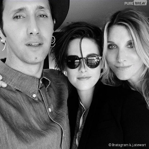Kristen Stewart : ce cliché inédit de la star est apparu sur un compte Instagram à son nom, le 22 janvier 2015