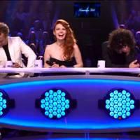 Benjamin Castaldi dans Nouvelle Star 2015 : fou rire après une blague salace