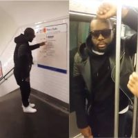 Maitre Gims : voyage (presque) incognito dans le métro parisien