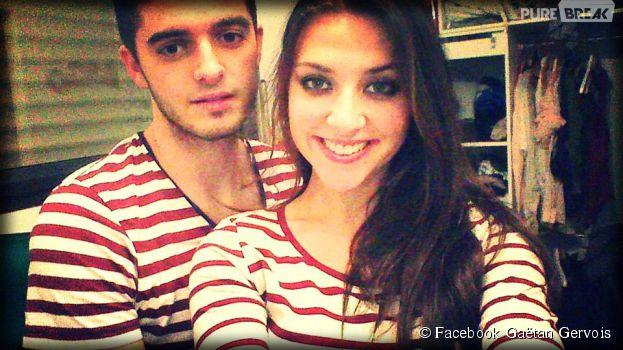Margaux Deroy et son petit-amie Gaëtan Gervois sur Facebook