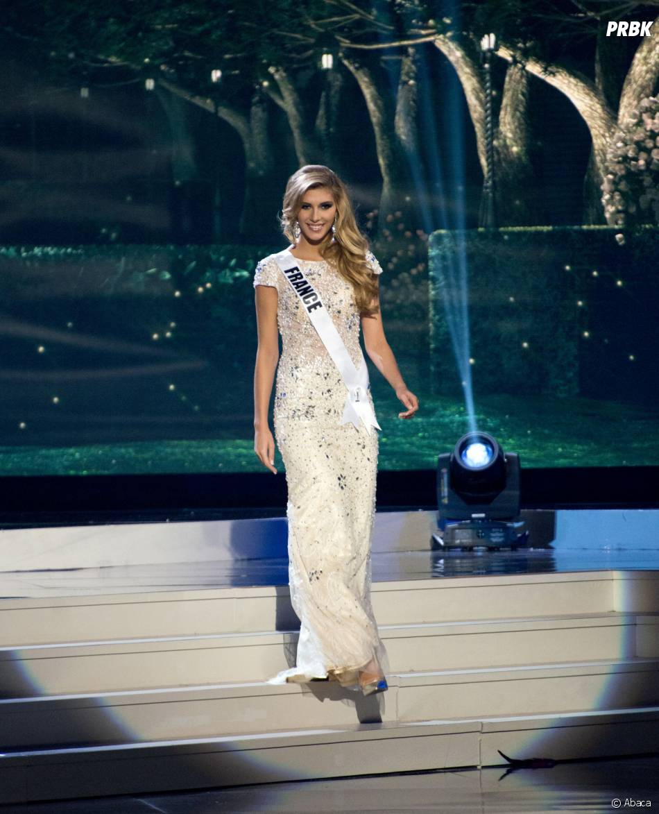 miss univers 2015 camille cerf robe se soir e sexy pour le concours purebreak. Black Bedroom Furniture Sets. Home Design Ideas