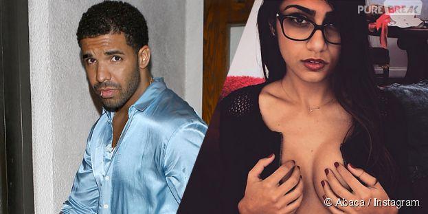 Drake drague la star du porno Mia Khalifa et se fait recaler