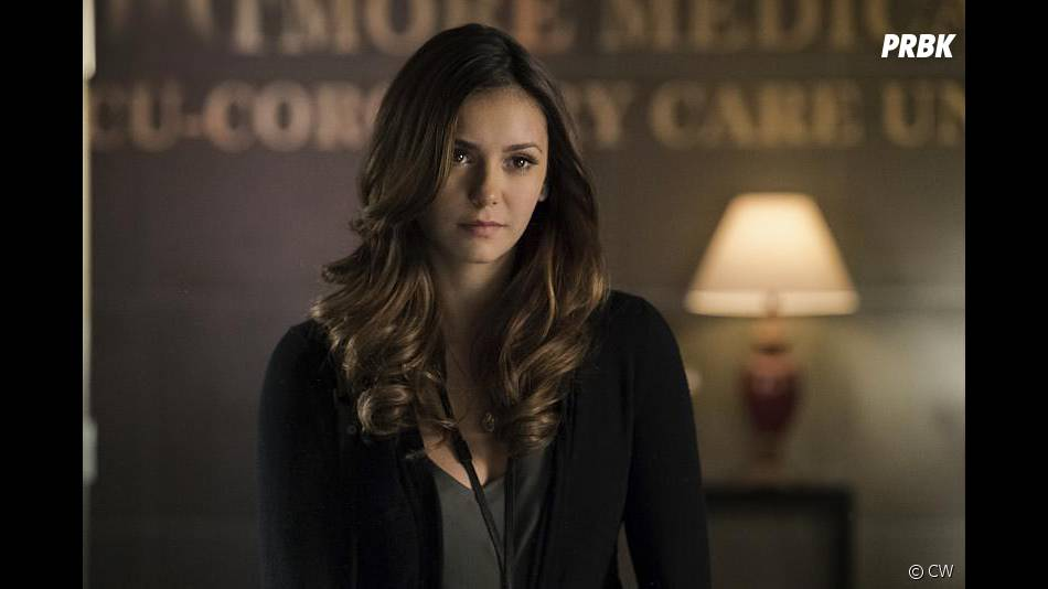 The Vampire Diaries saison 6, épisode 12 : Nina Dobrev (Elena) sur une photo