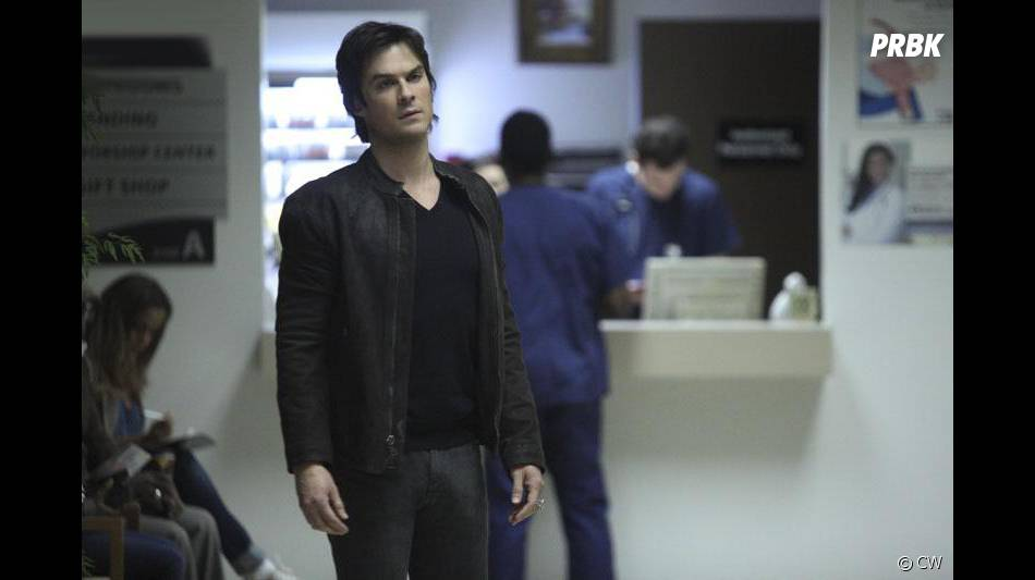 The Vampire Diaries saison 6, épisode 14 : Ian Somerhalder sur une photo