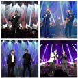M. Pokora : Ed Sheeran, Patrick Bruel et Soprano l'ont rejoint sur la scène du théâtre du Châtelet, le 29 janvier 2015