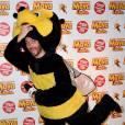 Maya l'abeille : Christophe Beaugrand s'amuse à l'avant-première du film à Paris le samedi 31 janvier 2015
