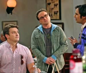 The Big Bang Theory saison 8 : Nathan Fillion incarnera son propre rôle