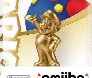 Nintendo : un Amiibo Mario de couleur Or en préparation ?