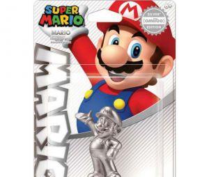 Nintendo : un Amiibo Mario de couleur Argent en préparation ?
