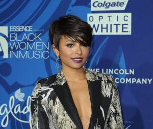 Kat Graham : cheveux courts à la soirée du magazine Essence, Black Women in Music, le 5 février 2015 à Los Angeles