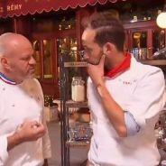 Top Chef 2015 : Jérémy Moscovici recadré par Philippe Etchebest, Twitter jubile